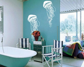 Jellyfish Vinyl Wall Art Decal