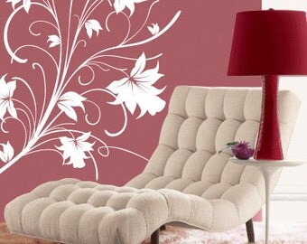 LILLY FLOWERS Wall Art Decal