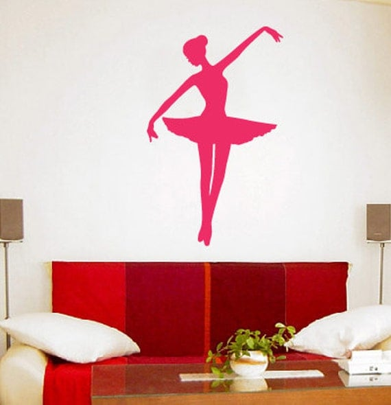 Ballet Girl, Ballerina 2 - Vinyl Wall Art Decal