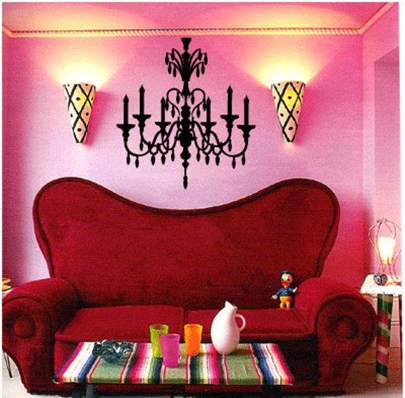 Crystal Chandelier 1 Vinyl Wall Art Decal