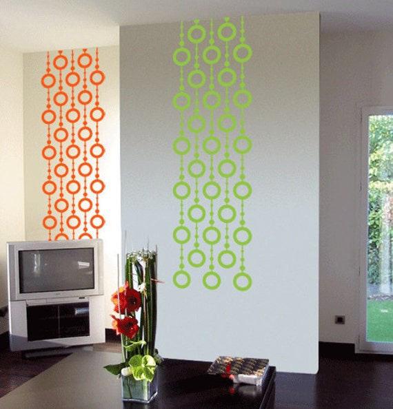 MODERN HANGING DESIGN Wall Decals