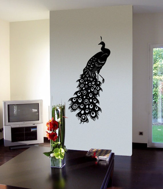 PEACOCK Wall Decals