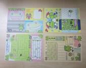 Kawaii Memo - Frogs (16 sheets)