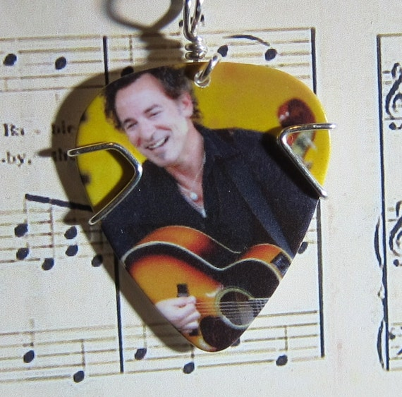 Bruce Springsteen Guitar Pick Pendant