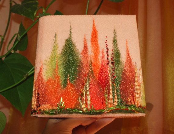 Autumn forest notebook - journal
