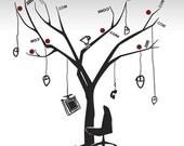 TreeDOTcom - Wall Art Vinyl Decal office