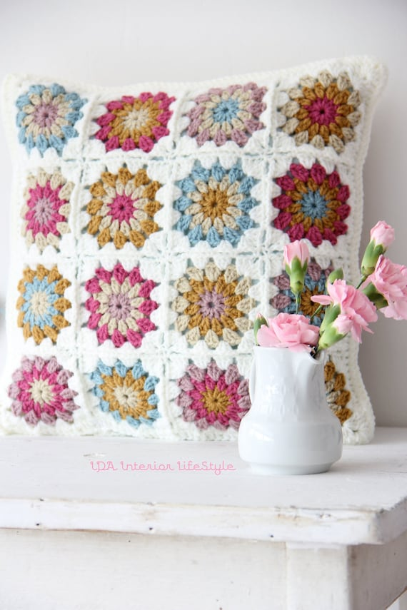 Crochet cushions cover small