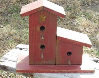 Primitive Rustic Birdhouse