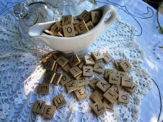 Magnetic Scrabble Letters