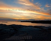 A Peaceful, Colorful Evening in Newport- Photograph