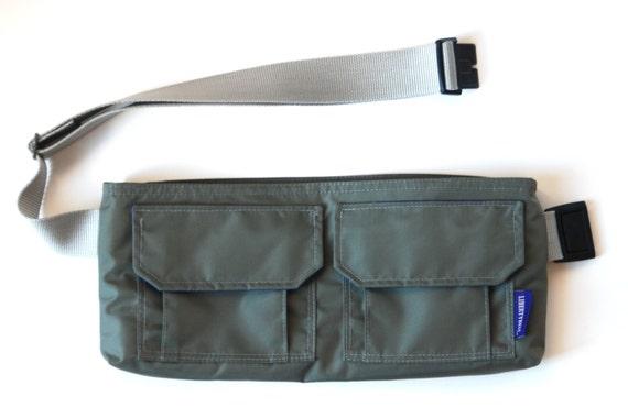 Libertybelt Travel Bag - Gray Nylon