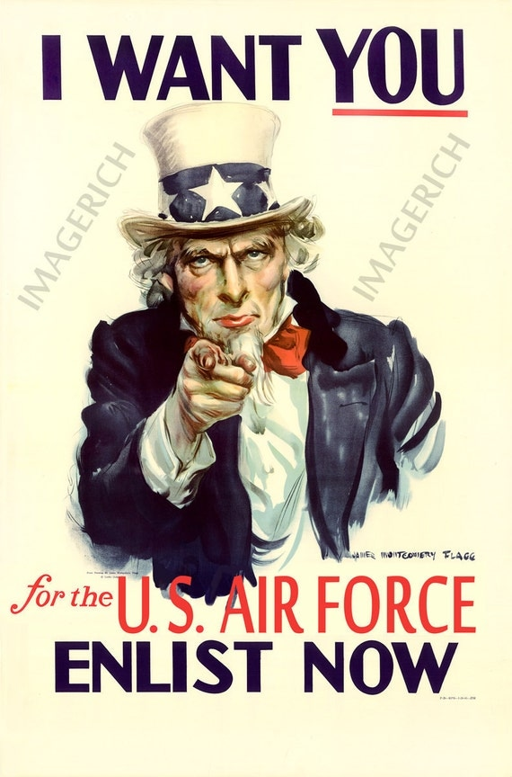 I Want You Uncle Sam World War 2