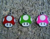 1 Pair Super Mario Mushroom Earrings
