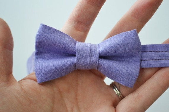 Bowtie For Newborns to Toddlers- Lavender