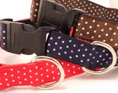 Swiss Dots Dog Collar