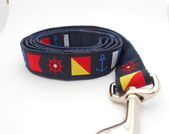 Dog Leash Nautical Signal Flags