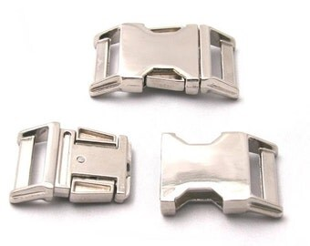 Metal Buckle Upgrade for 1 inch Dog Collar
