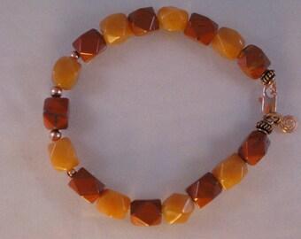 Aventurine and red jasper bracelet: charity donation