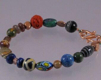 Multibead fiesta bracelet: charity donation