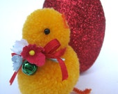 My sweet Home is a Red Glitter Egg