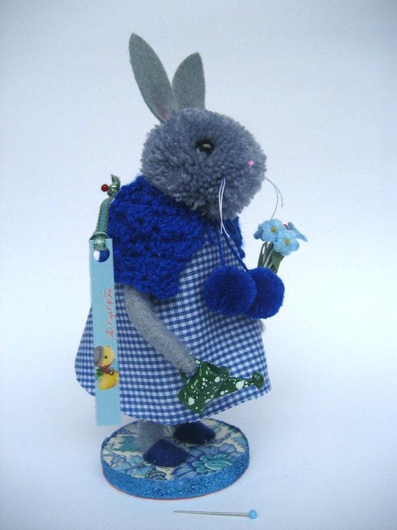 Mrs Bunny our Gardener