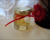 Bridal Shower, Honey Jar Favors, Raw Natural Honey, 24