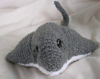 Sally the Stingray - Amigurumi Crochet PATTERN ONLY (PDF)