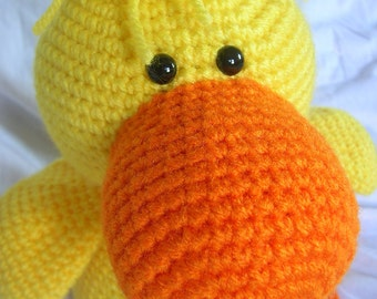 Desmond the Duck - Amigurumi Crochet PATTERN ONLY (PDF)