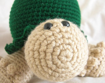 Terrance the Tortoise - Amigurumi Plush Crochet PATTERN ONLY (PDF)