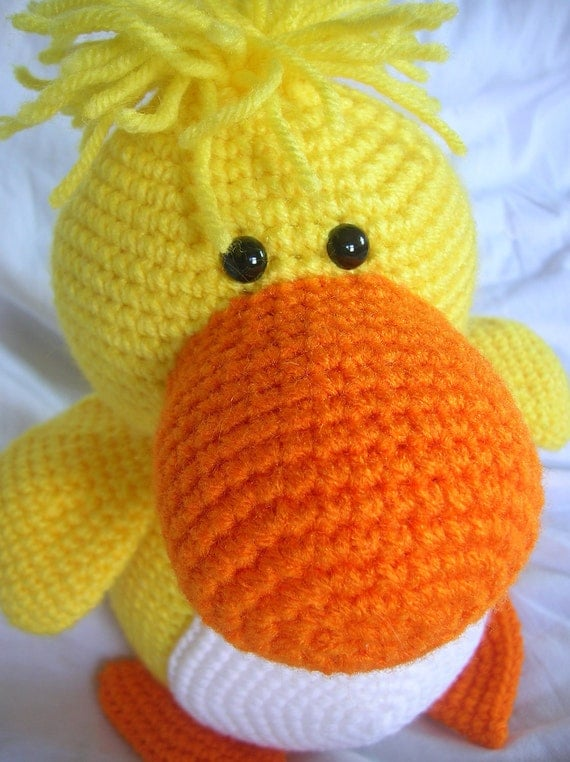 Amigurumi Duckling : Desmond the Duck Amigurumi Crochet PATTERN ONLY PDF