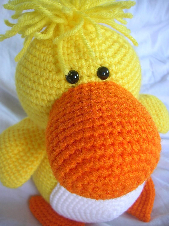 Amigurumi Duck : Desmond the Duck Amigurumi Crochet PATTERN ONLY PDF
