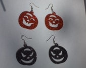 Cute sparkle LIL' PUNKIN earrings