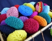 Pot Scrubbers (Scrubbies) Variety of Colors Set of Seven