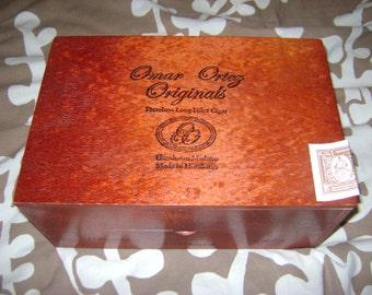 Omar Ortez Originals Cigar Box