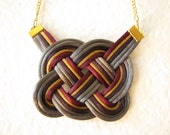 Celtic Heart Knot Necklace - Banon