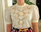 Handmade Embroidered Blouse