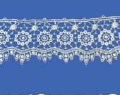 Clip Art - Digital - Embellishment - Download - Floral Decorative - Lace