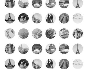 80% OFF SALE digital collage sheet, vintage paris, vintage images, paris collage sheet, digital collage sheet download, instant download