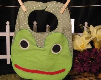 Happy Frog Bib
