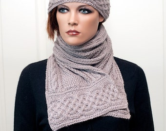 "Pattern for scarf and hat ""Zarah"""
