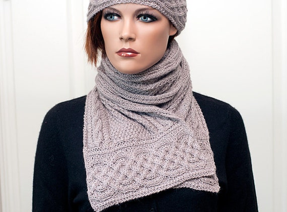 """Pattern for scarf and hat """"Zarah"""""""