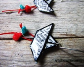 Paper Boat Earrings Handcrafted by Artedeumdeco Etsy Jewelry Shop
