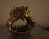 Vintage Owl ashtray/jewelry holder