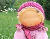 Waldorf inspired soft doll