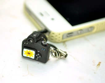 Canon 1000D DSLR Camera miniature Earphone Jack
