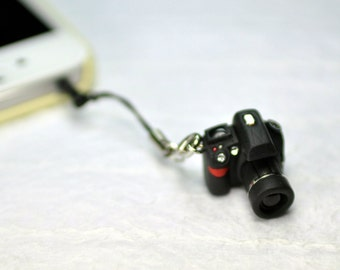 Nikon D90 DSLR Camera miniature Earphone Jack