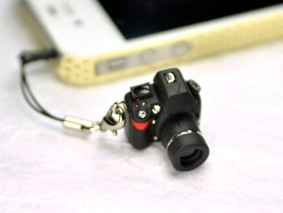 Nikon D800 DSLR Camera miniature Earphone Jack
