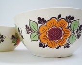 Pair of Vintage Bowls Made in Former GDR