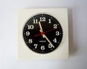 RESERVED - Vintage German Wall Clock from Nova Quartz Made in West Germany