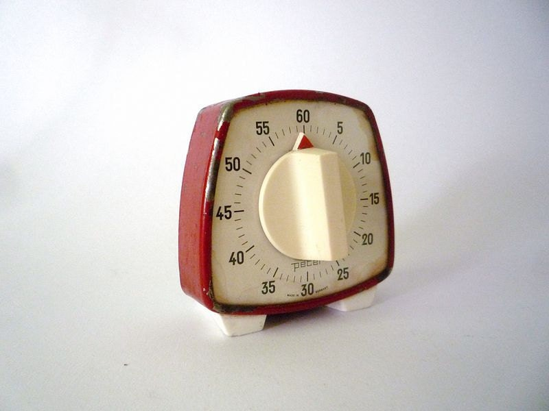 vintage kitchen timer, kikkerland vintage kitchen timer, vintage kitchen clock timer, vintage kitchen timer